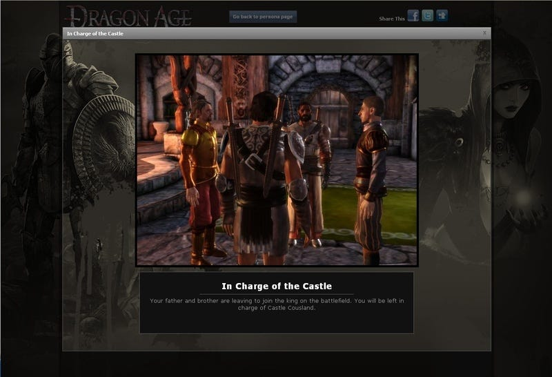 """Illustration for article titled BioWare Reveals Dragon Age's """"Massively Single-Player"""" Details"""