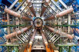 Illustration for article titled The Large Hadron Collider Eats Lead