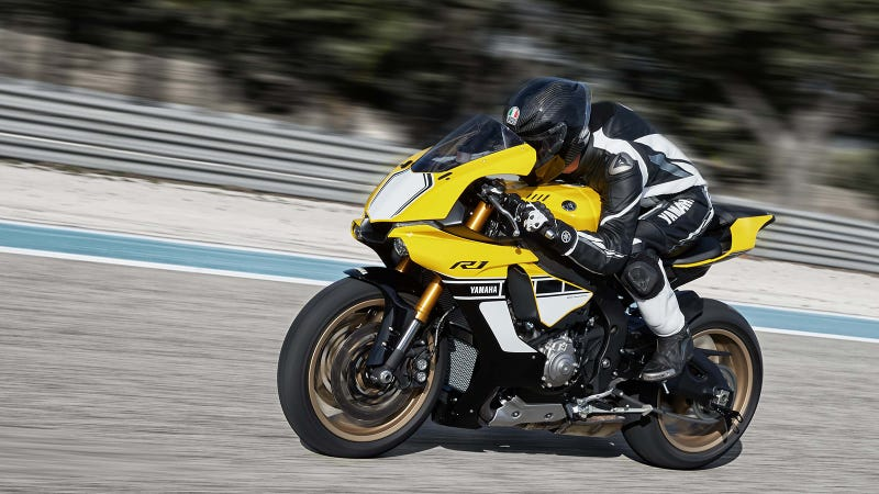 Illustration for article titled This Yamaha Speed Block Livery Is So Hot Right Now