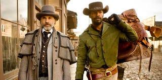 Christoph Waltz and Jamie Foxx in Django (Weinstein Co.)