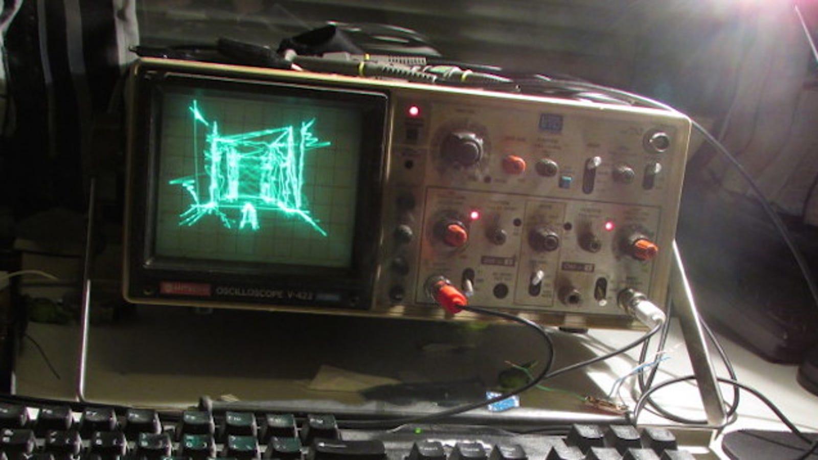 Una partida al Quake como nunca la has visto: con osciloscopio