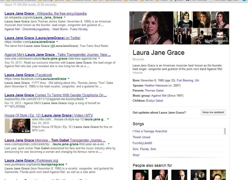Illustration for article titled Can We Discuss How Awesome Laura Jane Grace Is? Please?