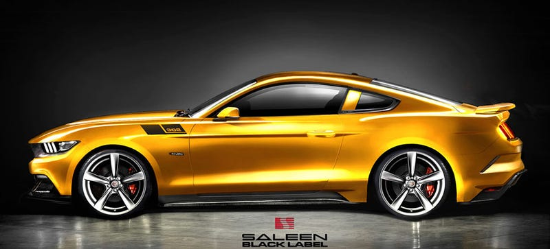 Illustration for article titled 2015 Saleen 302 Black Label Will Be A 640 HP Superstang