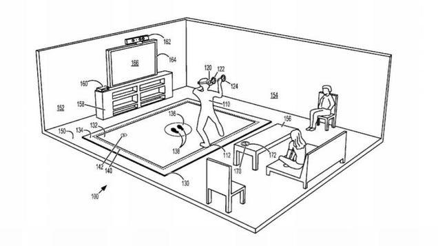 Microsoft Filed Patent for a Virtual Reality...Mat?