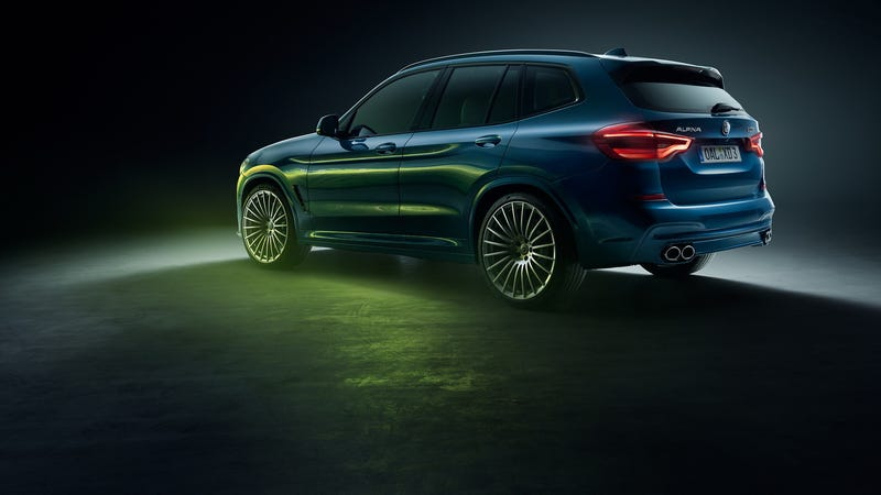 Illustration for article titled The Quad-Turbo Diesel 2019 Alpina XD3 Is The Only Good Crossover