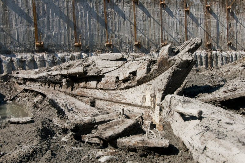 Illustration for article titled 19th Century Schooner Uncovered At Toronto's Historic Waterfront