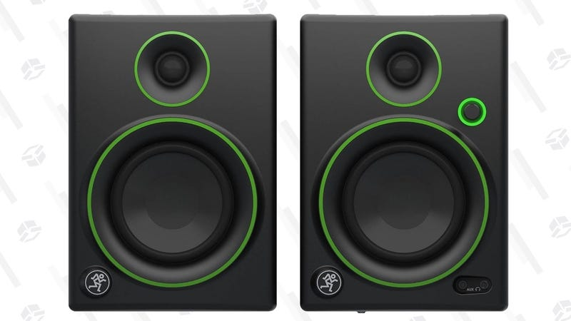 Mackie CR3 Reference Monitor Pair | $80 | Amazon