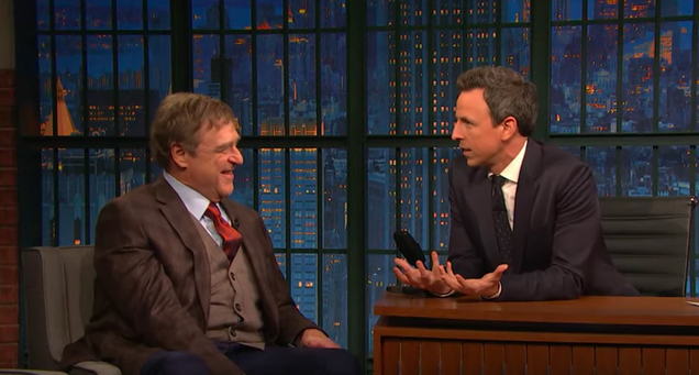On Late Night, John Goodman talks The Conners, reveals what Lebowski quote he hears the most