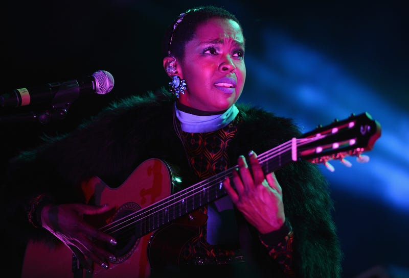 Lauryn Hill performing in concert May 8, 2016, in Portsmouth, Va. David A. Beloff/Getty Images