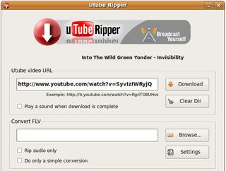 Utube ripper saves and converts youtube videos linux only video downloading utility utube ripper saves a copy of your favorite youtube videos for your offline viewing pleasure even converting them into ccuart Images