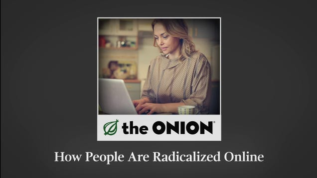 How People Are Radicalized Online