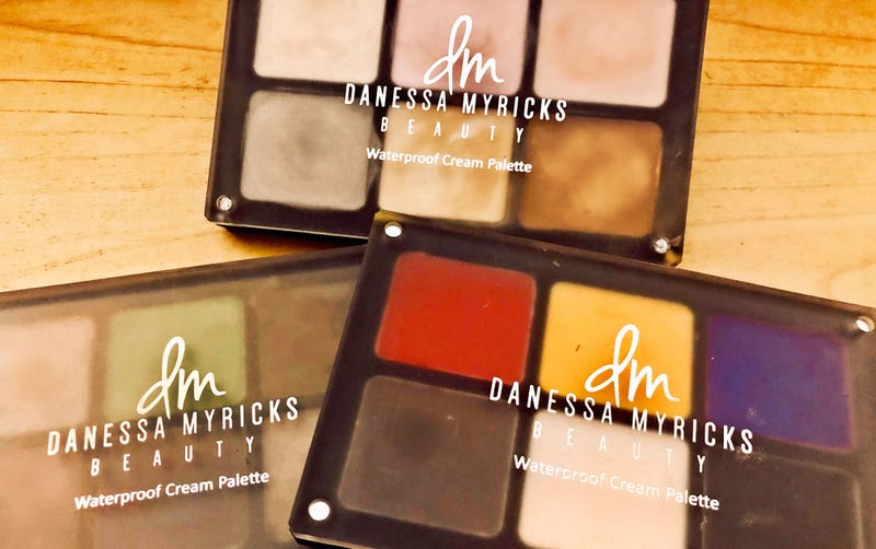 Like to fingerpaint? Get into these Waterproof Cream Palettes from Danessa Myricks