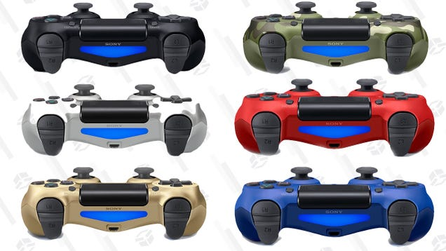 Take Your Pick of DualShock 4s at Black Friday Prices