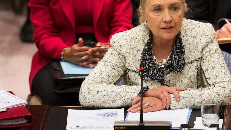 Illustration for article titled Hillary Clinton's UN Doodles Clearly a Window Into Her Innermost Thoughts