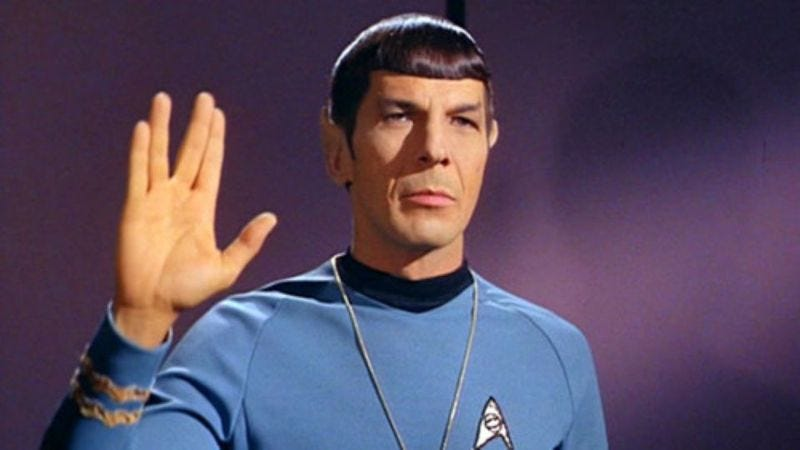 Illustration for article titled Leonard Nimoy's final artwork will be unveiled at Star Trek art exhibit
