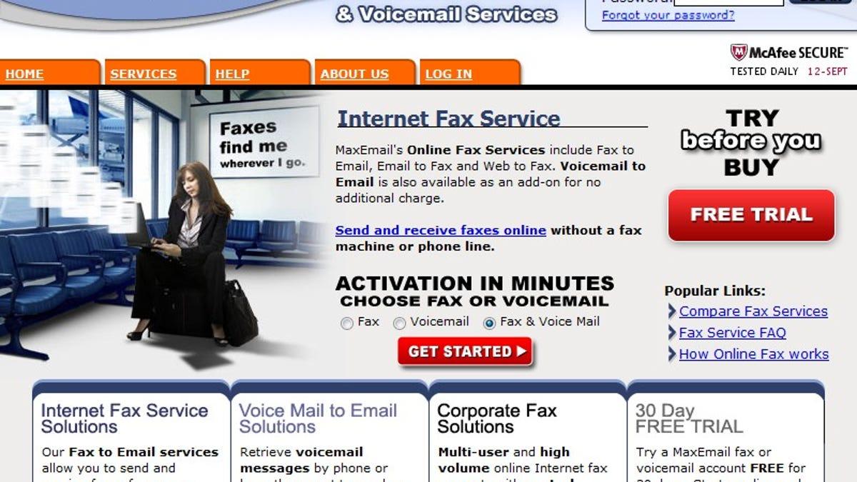five best fax services