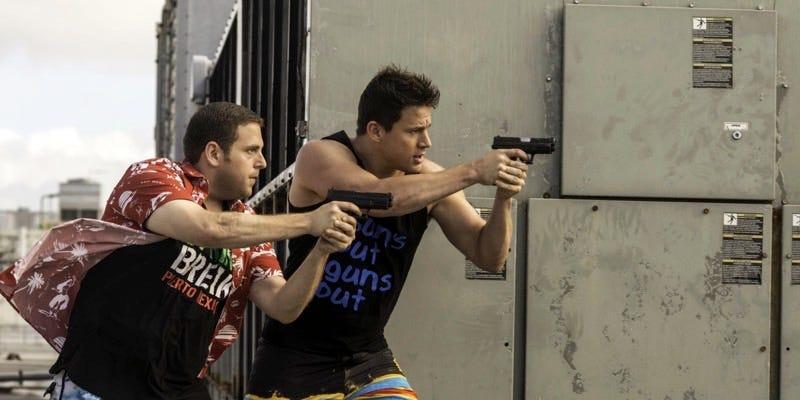 Jonah Hill and Channing Tatum in 22 Jump Street