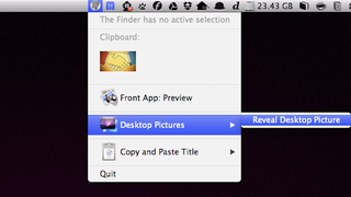 Illustration for article titled Amelita Puts Useful Commands and Actions in Your Mac's Menubar