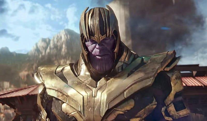 Illustration for article titled La sinopsis de Avengers: Endgame adelanta un detalle sorprendente sobre el papel de Thanos en el film