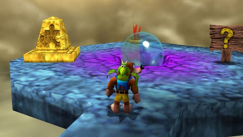 Banjo-Tooie running on the GLideN64 plugin