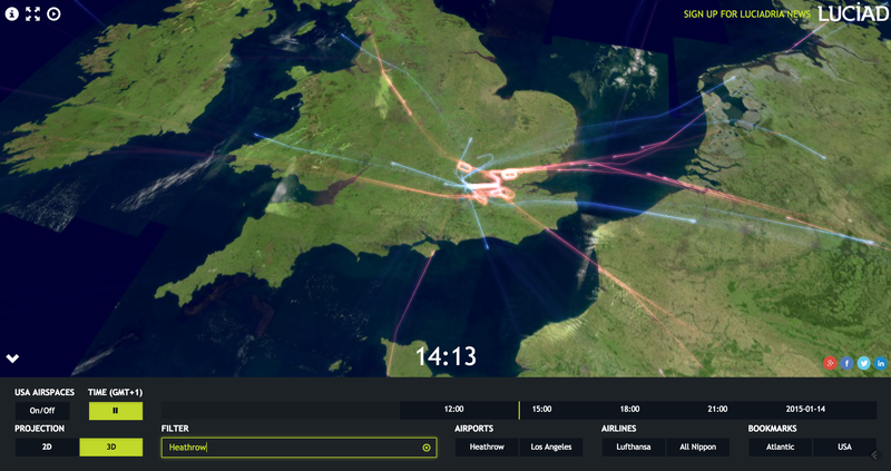 Illustration for article titled This Interactive Web App Lets Your Play at Being an Air Traffic Analyst