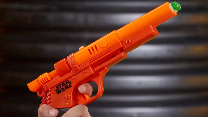 Star Wars Nerf Qi'Ra Blaster   $7   Wal-Mart