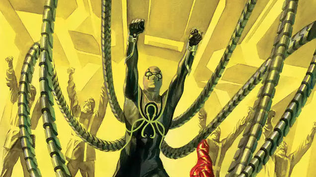 doctor octopus is back with a new look and a new allegiance