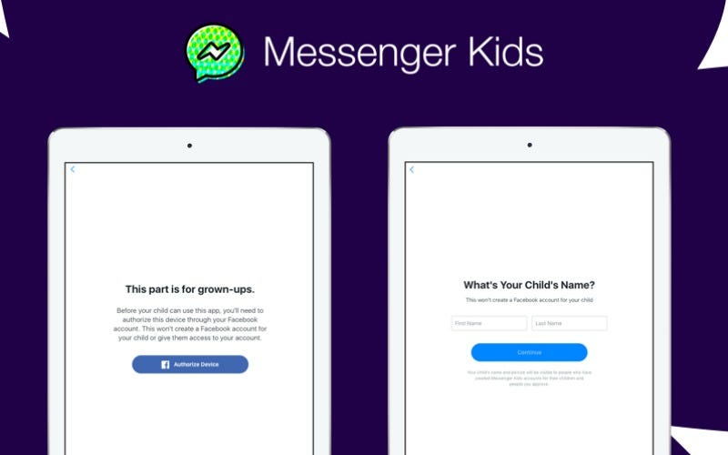 Facebook Introduces Messenger Kids, A Chat App For Kids Under 13