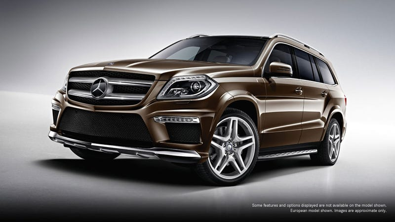 Illustration for article titled Did Mercedes-Benz Accidentally The 2013 GL AMG?