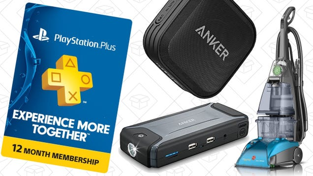 Saturday's Best Deals: $40 PlayStation Plus, Texture Membership, Anker Speaker