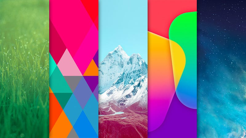 Download All Of IOS 7s Lovely Wallpapers Right Now