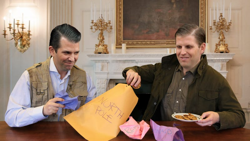 Illustration for article titled Trump Boys Proud After Mailing In Hand-Drawn Republican Ballots To North Pole