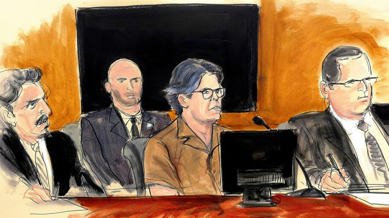 Keith Raniere in Court