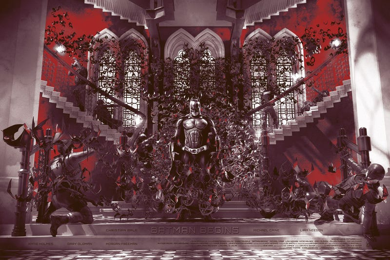 Batman Begins by Chris Skinner. All Images: Hero Complex