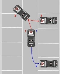 Illustration for article titled How Do You Reverse Into a Parking Space?