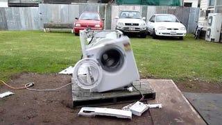 powerless washing machine