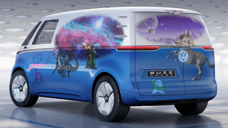 Illustration for article titled It's Time to Design Your Very Own Van Mural For VW's New Cargo Van