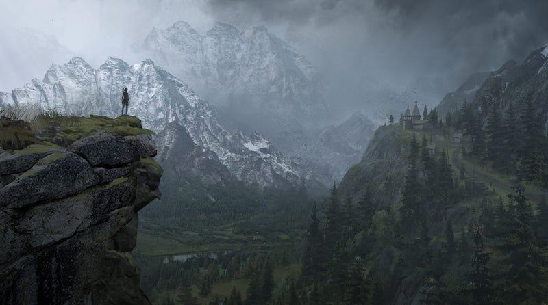 Illustration for article titled El concept art de Rise of the Tomb Raider es una auténtica maravilla