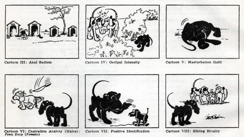 """Illustration for article titled The """"Blacky Pictures"""" are the scariest psychological test ever"""