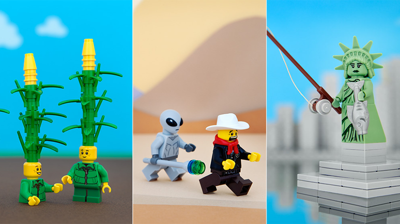 Illustration for article titled The Fifty States, Now In Pleasing LEGO Form
