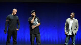 Dr. Dre, Ice Cube and Straight Outta Compton director F. Gary GrayMichael Buckner/Getty Images