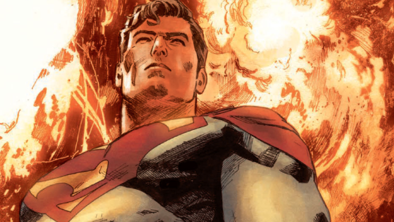 Superman as he appears in Action Comics #1000's Of Tomorrow.