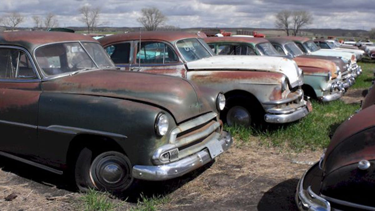 Classic cars of a huge Nebraskan junkyard get a second chance at life
