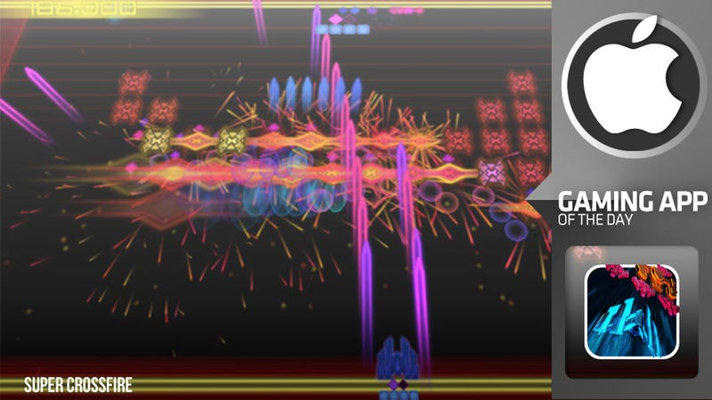 Illustration for article titled The Colorful Chaos of Super Crossfire Turns the Tables on Invaders From Space