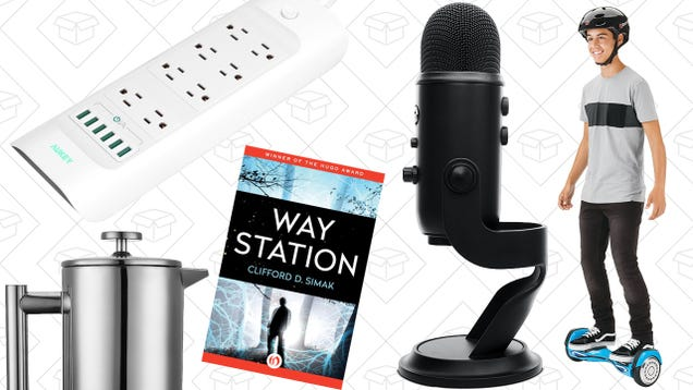 Todays best deals hoverboard yeti microphone french press and todays best deals hoverboard yeti microphone french press and more fandeluxe Choice Image