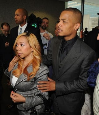 Illustration for article titled T.I. & Wife Arrested For Drug Possession