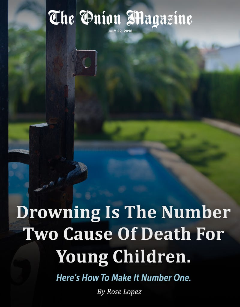 Illustration for article titled Drowning Is The Number Two Cause Of Death For Young Children. Here's How To Make It Number One.