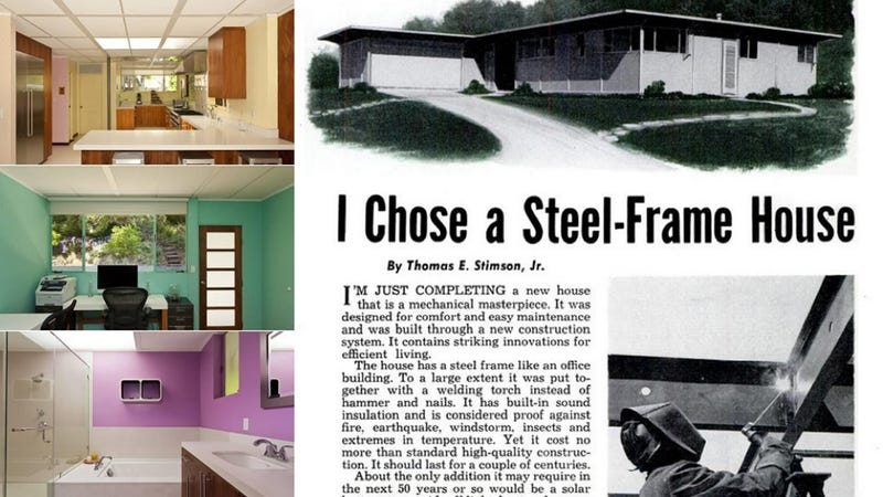 Illustration for article titled Buy Popular Mechanics' 1955 House of the Future For Only $1.8 Million