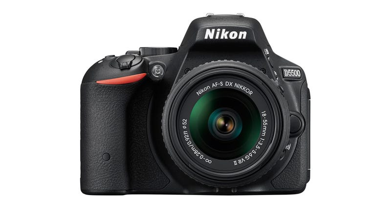 Illustration for article titled ​Nikon D5500: Nikon Finally Has a Touchscreen DSLR But Is It Too Late?