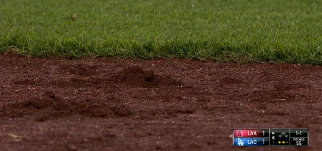 Vin Scully Can Make Even Dirt Interesting